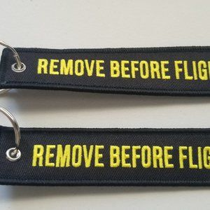 Other - Lot of 2 Remove Before Flight Key Chains